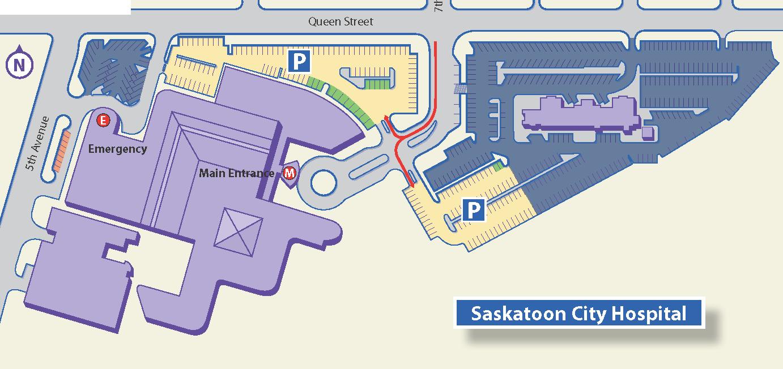 Parking Services Saskatoon City Hospital