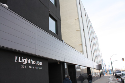 The Lighthouse Supported Living Building